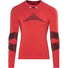 X-Bionic Effektor Running Power - T-shirt manches longues running Homme - rouge